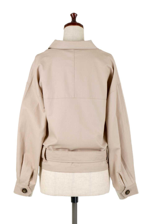 OversizedSafariJacketオーバーサイズ・サファリジャケット大人カジュアルに最適な海外ファッションのothers(その他インポートアイテム)のアウターやジャケット。ショート&オーバーサイズなコットン・サファリジャケット。しっかりしたシャツジャケットのような着心地でこの時期に最適な1枚です。/main-9