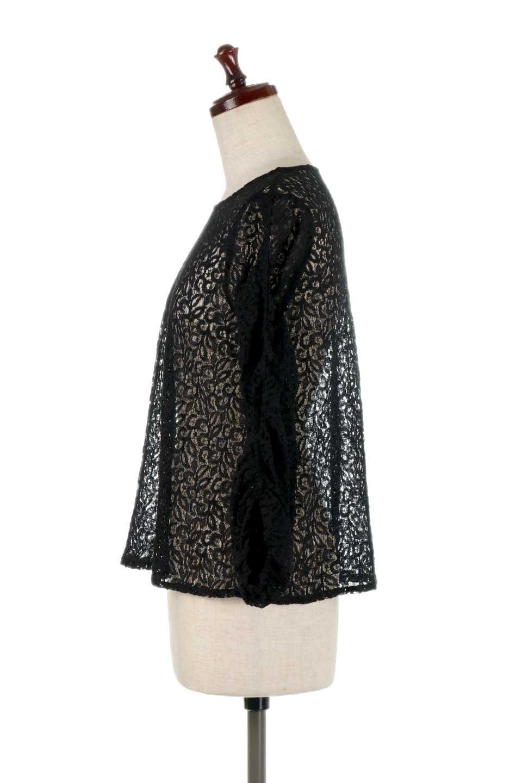 GatherSleeveLaceBlouseオーバーサイズ・サファリジャケット大人カジュアルに最適な海外ファッションのothers(その他インポートアイテム)のトップスやシャツ・ブラウス。春の重ね着にピッタリの総レースブラウス。ゆったり目のシルエットとギャザーをあしらった袖がとてもかわいいブラウスです。/main-17