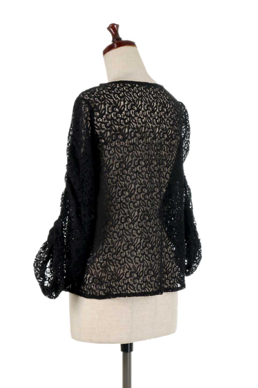 GatherSleeveLaceBlouseオーバーサイズ・サファリジャケット大人カジュアルに最適な海外ファッションのothers(その他インポートアイテム)のトップスやシャツ・ブラウス。春の重ね着にピッタリの総レースブラウス。ゆったり目のシルエットとギャザーをあしらった袖がとてもかわいいブラウスです。/main-18