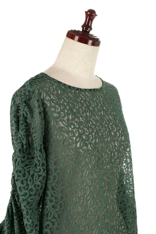 GatherSleeveLaceBlouseオーバーサイズ・サファリジャケット大人カジュアルに最適な海外ファッションのothers(その他インポートアイテム)のトップスやシャツ・ブラウス。春の重ね着にピッタリの総レースブラウス。ゆったり目のシルエットとギャザーをあしらった袖がとてもかわいいブラウスです。/main-20