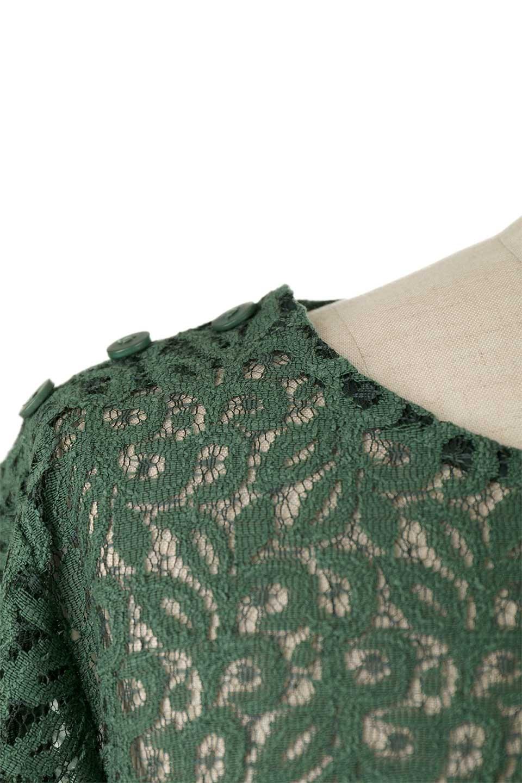 GatherSleeveLaceBlouseオーバーサイズ・サファリジャケット大人カジュアルに最適な海外ファッションのothers(その他インポートアイテム)のトップスやシャツ・ブラウス。春の重ね着にピッタリの総レースブラウス。ゆったり目のシルエットとギャザーをあしらった袖がとてもかわいいブラウスです。/main-23