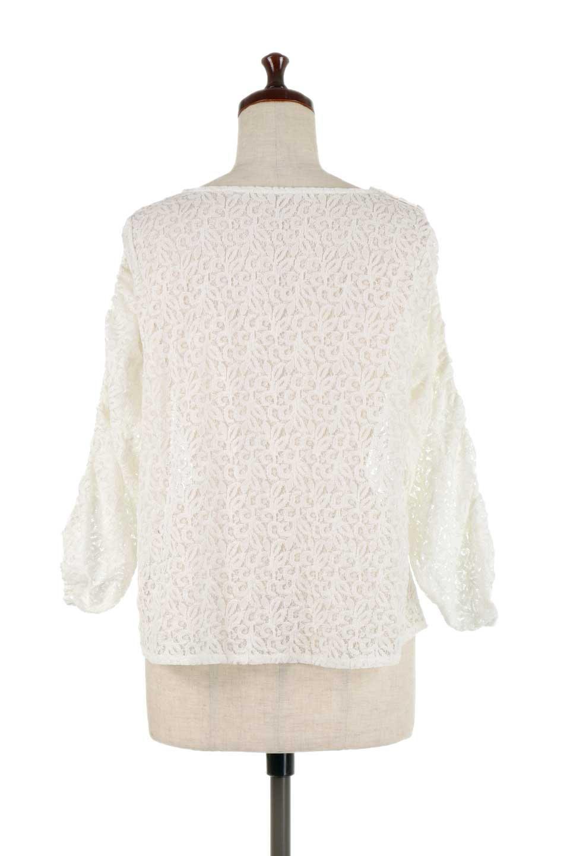 GatherSleeveLaceBlouseオーバーサイズ・サファリジャケット大人カジュアルに最適な海外ファッションのothers(その他インポートアイテム)のトップスやシャツ・ブラウス。春の重ね着にピッタリの総レースブラウス。ゆったり目のシルエットとギャザーをあしらった袖がとてもかわいいブラウスです。/main-9