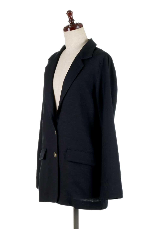 2ButtonTailoredJacket麻混2ボタン・テイラードジャケット大人カジュアルに最適な海外ファッションのothers(その他インポートアイテム)のアウターやジャケット。春夏に活躍しそうな1枚仕立てのテーラードジャケット。ややゆったりシルエットで幅広い着こなしが楽しめるジャケットです。/main-11