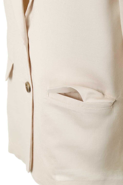 2ButtonTailoredJacket麻混2ボタン・テイラードジャケット大人カジュアルに最適な海外ファッションのothers(その他インポートアイテム)のアウターやジャケット。春夏に活躍しそうな1枚仕立てのテーラードジャケット。ややゆったりシルエットで幅広い着こなしが楽しめるジャケットです。/main-20
