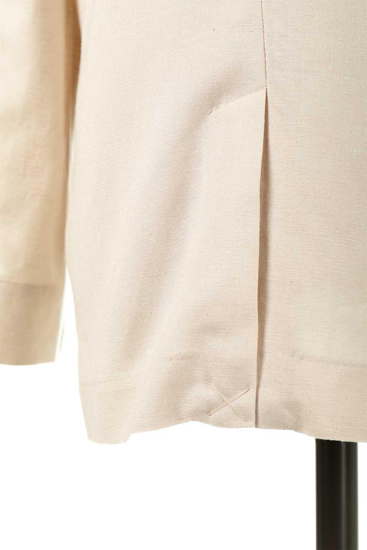 2ButtonTailoredJacket麻混2ボタン・テイラードジャケット大人カジュアルに最適な海外ファッションのothers(その他インポートアイテム)のアウターやジャケット。春夏に活躍しそうな1枚仕立てのテーラードジャケット。ややゆったりシルエットで幅広い着こなしが楽しめるジャケットです。/main-22
