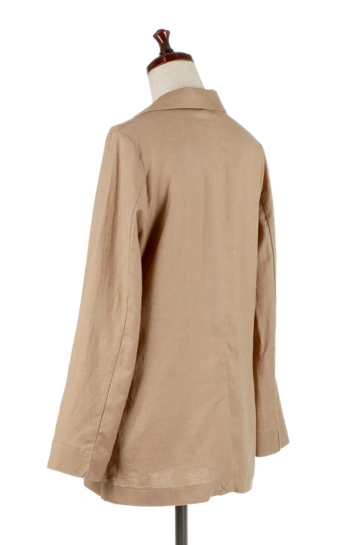 2ButtonTailoredJacket麻混2ボタン・テイラードジャケット大人カジュアルに最適な海外ファッションのothers(その他インポートアイテム)のアウターやジャケット。春夏に活躍しそうな1枚仕立てのテーラードジャケット。ややゆったりシルエットで幅広い着こなしが楽しめるジャケットです。/main-8