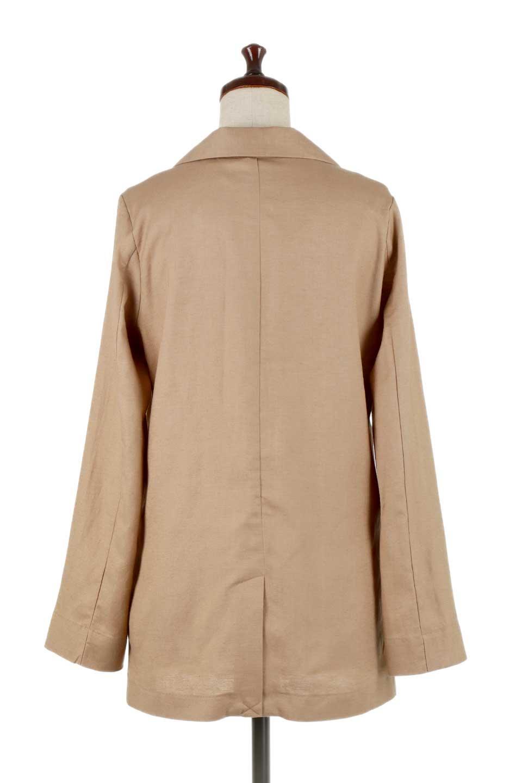2ButtonTailoredJacket麻混2ボタン・テイラードジャケット大人カジュアルに最適な海外ファッションのothers(その他インポートアイテム)のアウターやジャケット。春夏に活躍しそうな1枚仕立てのテーラードジャケット。ややゆったりシルエットで幅広い着こなしが楽しめるジャケットです。/main-9
