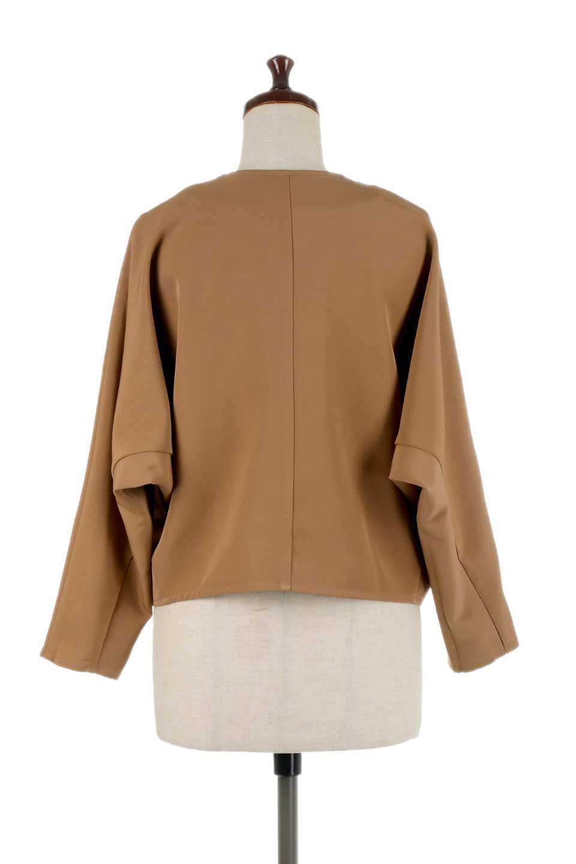 OversizedShortJacketオーバーサイズ・ショートジャケット大人カジュアルに最適な海外ファッションのothers(その他インポートアイテム)のアウターやジャケット。大きめでショート丈の人気シルエットのジャケット。ドルマンスリーブとストレッチ素材で動き安さも抜群。/main-14