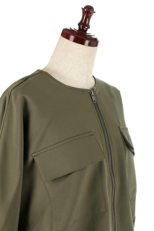 OversizedShortJacketオーバーサイズ・ショートジャケット大人カジュアルに最適な海外ファッションのothers(その他インポートアイテム)のアウターやジャケット。大きめでショート丈の人気シルエットのジャケット。ドルマンスリーブとストレッチ素材で動き安さも抜群。/main-15