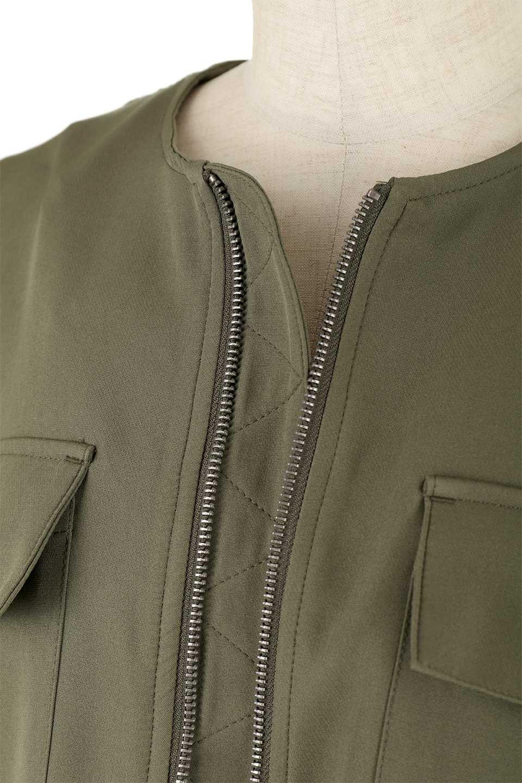 OversizedShortJacketオーバーサイズ・ショートジャケット大人カジュアルに最適な海外ファッションのothers(その他インポートアイテム)のアウターやジャケット。大きめでショート丈の人気シルエットのジャケット。ドルマンスリーブとストレッチ素材で動き安さも抜群。/main-18
