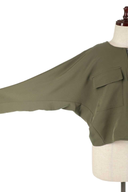OversizedShortJacketオーバーサイズ・ショートジャケット大人カジュアルに最適な海外ファッションのothers(その他インポートアイテム)のアウターやジャケット。大きめでショート丈の人気シルエットのジャケット。ドルマンスリーブとストレッチ素材で動き安さも抜群。/main-20