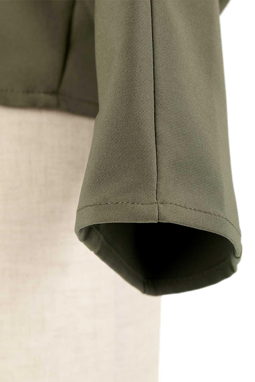 OversizedShortJacketオーバーサイズ・ショートジャケット大人カジュアルに最適な海外ファッションのothers(その他インポートアイテム)のアウターやジャケット。大きめでショート丈の人気シルエットのジャケット。ドルマンスリーブとストレッチ素材で動き安さも抜群。/main-21