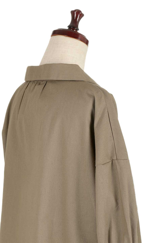 OpenCollarBigShirtsオープンカラー・ビッグシャツ大人カジュアルに最適な海外ファッションのothers(その他インポートアイテム)のトップスやシャツ・ブラウス。オーバーサイズのシルエットが可愛らしいシンプルな開襟シャツ。合わせやすいくすんだ色合いが春夏のコーデを楽しくします。/main-21