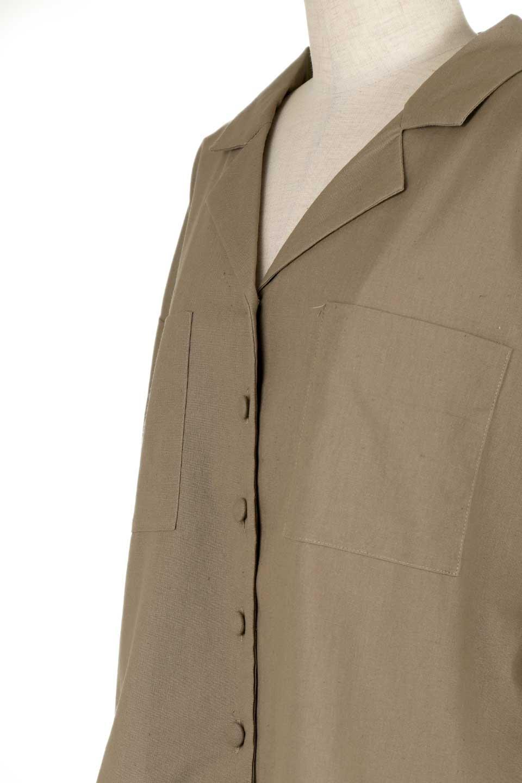 OpenCollarBigShirtsオープンカラー・ビッグシャツ大人カジュアルに最適な海外ファッションのothers(その他インポートアイテム)のトップスやシャツ・ブラウス。オーバーサイズのシルエットが可愛らしいシンプルな開襟シャツ。合わせやすいくすんだ色合いが春夏のコーデを楽しくします。/main-23