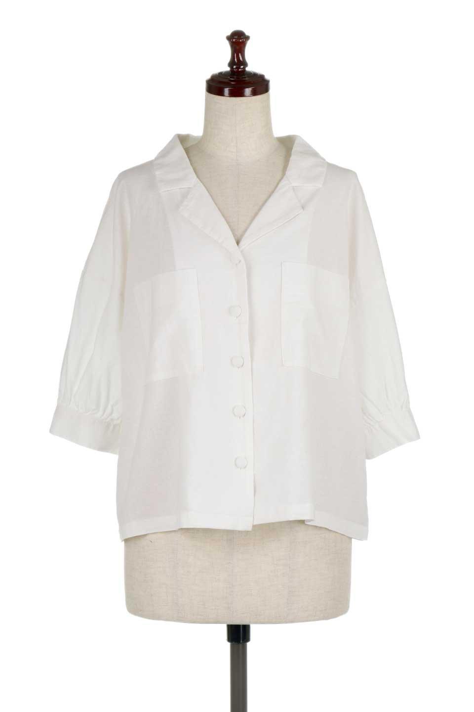 OpenCollarBigShirtsオープンカラー・ビッグシャツ大人カジュアルに最適な海外ファッションのothers(その他インポートアイテム)のトップスやシャツ・ブラウス。オーバーサイズのシルエットが可愛らしいシンプルな開襟シャツ。合わせやすいくすんだ色合いが春夏のコーデを楽しくします。/main-5