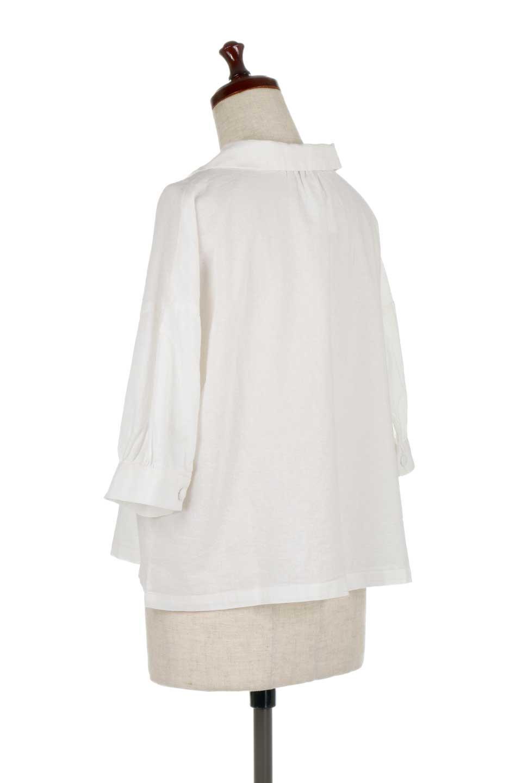 OpenCollarBigShirtsオープンカラー・ビッグシャツ大人カジュアルに最適な海外ファッションのothers(その他インポートアイテム)のトップスやシャツ・ブラウス。オーバーサイズのシルエットが可愛らしいシンプルな開襟シャツ。合わせやすいくすんだ色合いが春夏のコーデを楽しくします。/main-8