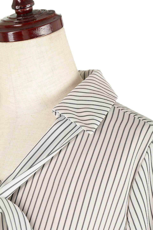 3/4SleeveStrippedShirts7分袖ストライプシャツfromDenmark大人カジュアルに最適な海外ファッションのothers(その他インポートアイテム)のトップスやシャツ・ブラウス。オフィスカジュアルでも活躍しそうなストライプシャツ。細めのストライプ柄で知的な雰囲気も感じるシャツ。/main-7
