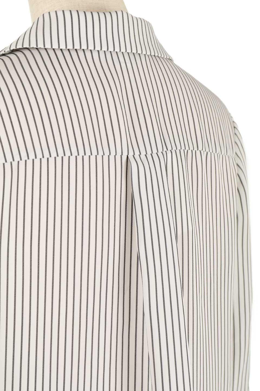 3/4SleeveStrippedShirts7分袖ストライプシャツfromDenmark大人カジュアルに最適な海外ファッションのothers(その他インポートアイテム)のトップスやシャツ・ブラウス。オフィスカジュアルでも活躍しそうなストライプシャツ。細めのストライプ柄で知的な雰囲気も感じるシャツ。/main-8