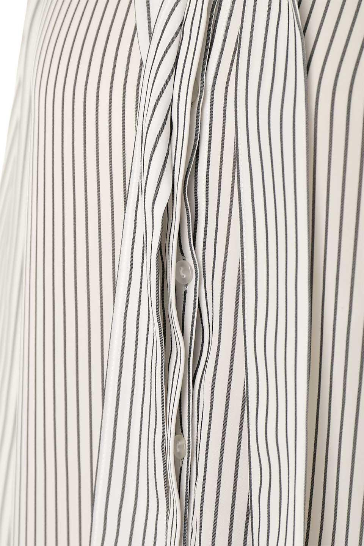 3/4SleeveStrippedShirts7分袖ストライプシャツfromDenmark大人カジュアルに最適な海外ファッションのothers(その他インポートアイテム)のトップスやシャツ・ブラウス。オフィスカジュアルでも活躍しそうなストライプシャツ。細めのストライプ柄で知的な雰囲気も感じるシャツ。/main-9