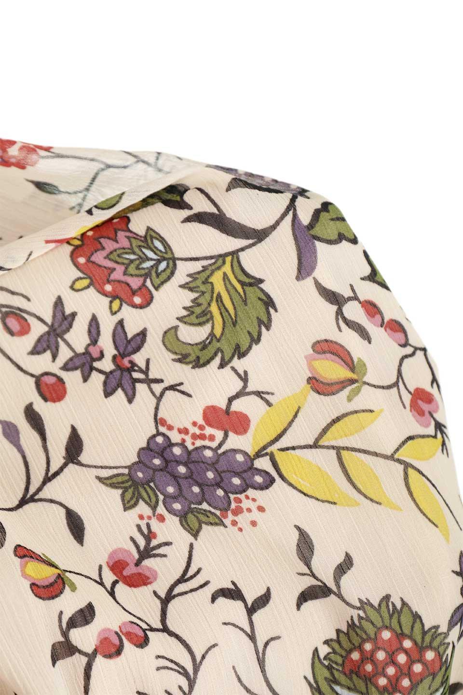 BohemianEmbroideredLongDressボヘミアン調刺繍入り・半袖ロングドレスfromDenmark大人カジュアルに最適な海外ファッションのothers(その他インポートアイテム)のワンピースやマキシワンピース。一目惚れのお客様多数のボヘミアン・ワンピース。全面のボタニカルプリントにエキゾチックな刺繍が目を引くワンピース。/main-19
