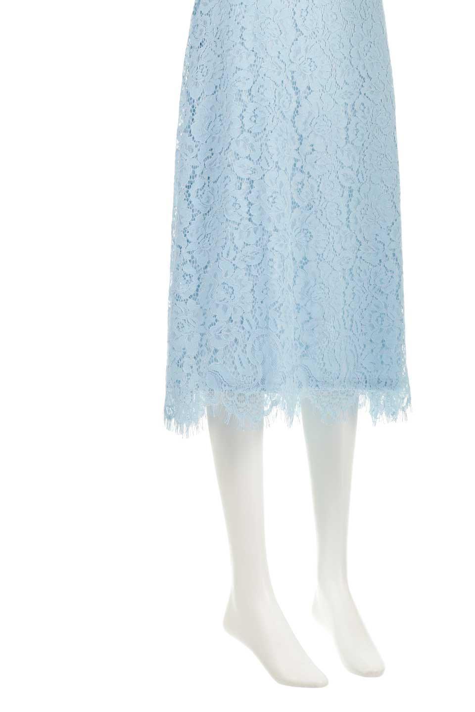 LayeredLaceMidiSkirt総レース・ミディスカート大人カジュアルに最適な海外ファッションのothers(その他インポートアイテム)のボトムやスカート。フェミニンな総レースが可愛いミディ丈スカート。レースの透け感と裏地のサテンの淡い光沢感の組み合わせが春らしいアイテムです。/main-12