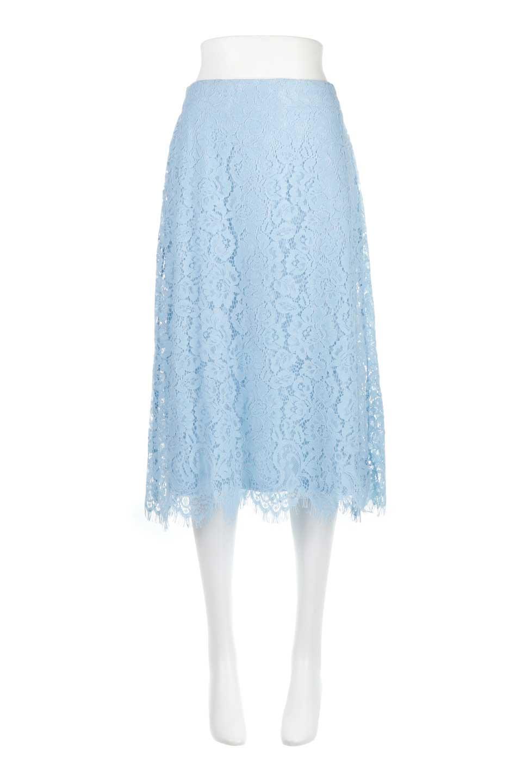 LayeredLaceMidiSkirt総レース・ミディスカート大人カジュアルに最適な海外ファッションのothers(その他インポートアイテム)のボトムやスカート。フェミニンな総レースが可愛いミディ丈スカート。レースの透け感と裏地のサテンの淡い光沢感の組み合わせが春らしいアイテムです。/main-5