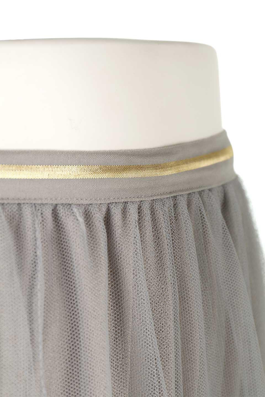 TulleMidiSkirtチュールレース・ミディスカート大人カジュアルに最適な海外ファッションのothers(その他インポートアイテム)のボトムやスカート。フワッとしたシルエットが可愛いチュールスカート。チュールは2層になっているのでしっかりとAラインを作り出してくれます。/main-15