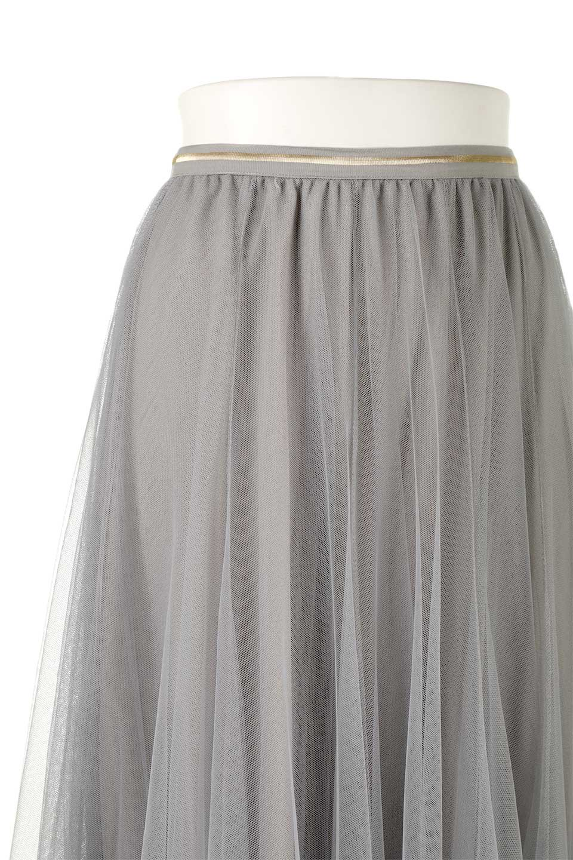 TulleMidiSkirtチュールレース・ミディスカート大人カジュアルに最適な海外ファッションのothers(その他インポートアイテム)のボトムやスカート。フワッとしたシルエットが可愛いチュールスカート。チュールは2層になっているのでしっかりとAラインを作り出してくれます。/main-16