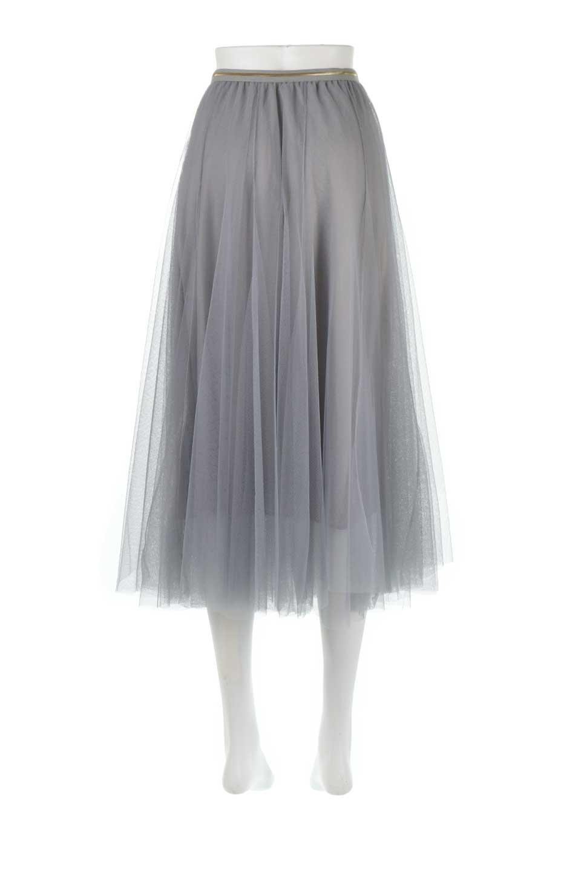 TulleMidiSkirtチュールレース・ミディスカート大人カジュアルに最適な海外ファッションのothers(その他インポートアイテム)のボトムやスカート。フワッとしたシルエットが可愛いチュールスカート。チュールは2層になっているのでしっかりとAラインを作り出してくれます。/main-9