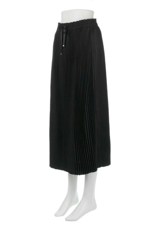 PleatedSkirtLongSkirtハイウエスト・プリーツロングスカート大人カジュアルに最適な海外ファッションのothers(その他インポートアイテム)のボトムやスカート。細めのアコーディオンプリーツがとてもきれいなロングスカート。Aラインのデザインですが広がりすぎない美しいシルエットです。/main-11