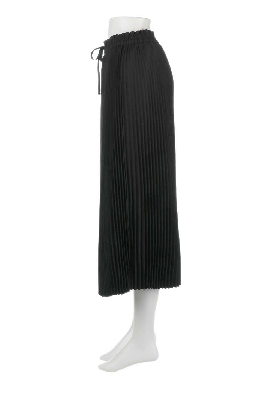 PleatedSkirtLongSkirtハイウエスト・プリーツロングスカート大人カジュアルに最適な海外ファッションのothers(その他インポートアイテム)のボトムやスカート。細めのアコーディオンプリーツがとてもきれいなロングスカート。Aラインのデザインですが広がりすぎない美しいシルエットです。/main-12
