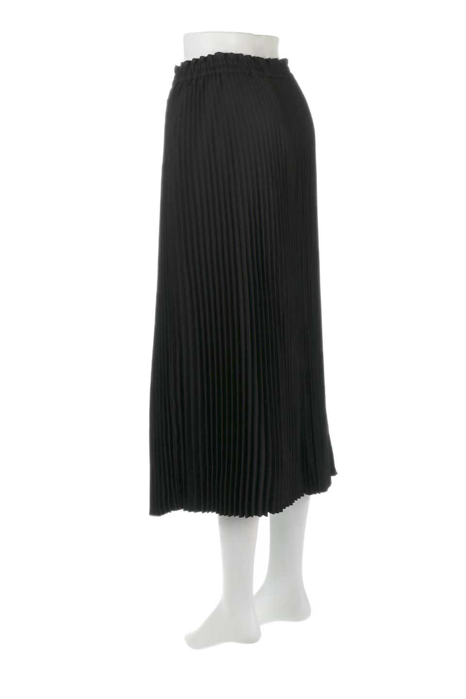 PleatedSkirtLongSkirtハイウエスト・プリーツロングスカート大人カジュアルに最適な海外ファッションのothers(その他インポートアイテム)のボトムやスカート。細めのアコーディオンプリーツがとてもきれいなロングスカート。Aラインのデザインですが広がりすぎない美しいシルエットです。/main-13