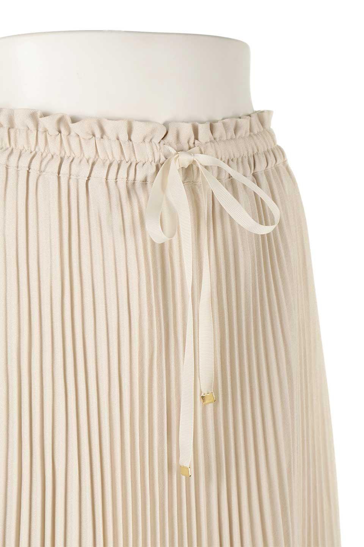 PleatedSkirtLongSkirtハイウエスト・プリーツロングスカート大人カジュアルに最適な海外ファッションのothers(その他インポートアイテム)のボトムやスカート。細めのアコーディオンプリーツがとてもきれいなロングスカート。Aラインのデザインですが広がりすぎない美しいシルエットです。/main-15