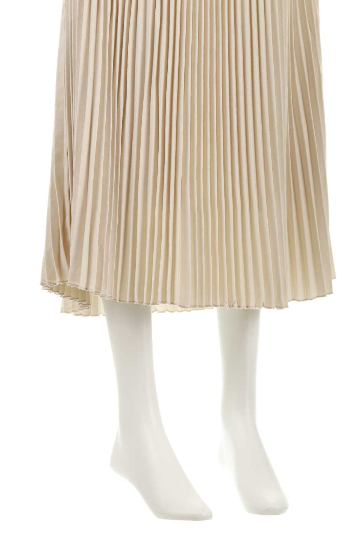 PleatedSkirtLongSkirtハイウエスト・プリーツロングスカート大人カジュアルに最適な海外ファッションのothers(その他インポートアイテム)のボトムやスカート。細めのアコーディオンプリーツがとてもきれいなロングスカート。Aラインのデザインですが広がりすぎない美しいシルエットです。/main-19