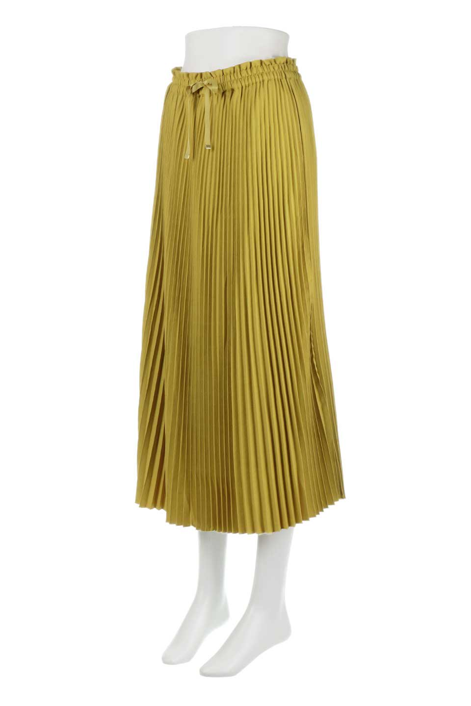 PleatedSkirtLongSkirtハイウエスト・プリーツロングスカート大人カジュアルに最適な海外ファッションのothers(その他インポートアイテム)のボトムやスカート。細めのアコーディオンプリーツがとてもきれいなロングスカート。Aラインのデザインですが広がりすぎない美しいシルエットです。/main-6