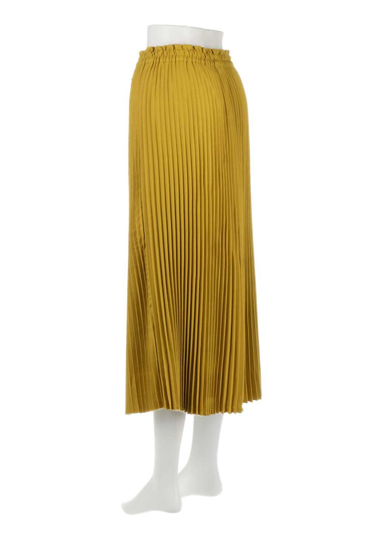 PleatedSkirtLongSkirtハイウエスト・プリーツロングスカート大人カジュアルに最適な海外ファッションのothers(その他インポートアイテム)のボトムやスカート。細めのアコーディオンプリーツがとてもきれいなロングスカート。Aラインのデザインですが広がりすぎない美しいシルエットです。/main-8