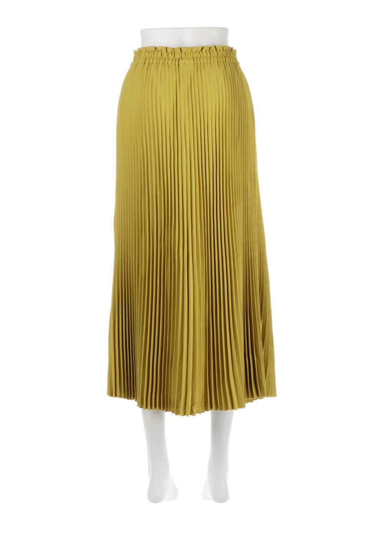 PleatedSkirtLongSkirtハイウエスト・プリーツロングスカート大人カジュアルに最適な海外ファッションのothers(その他インポートアイテム)のボトムやスカート。細めのアコーディオンプリーツがとてもきれいなロングスカート。Aラインのデザインですが広がりすぎない美しいシルエットです。/main-9