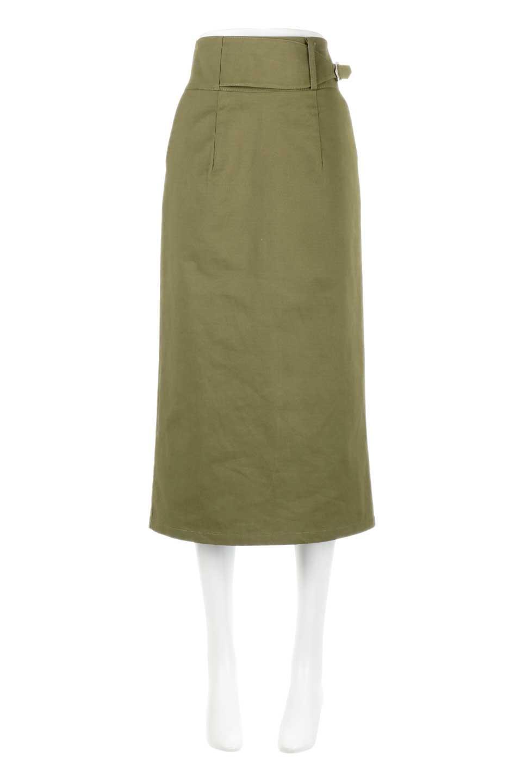 CottonTwillGurkhaSkirtミディ丈・グルカスカート大人カジュアルに最適な海外ファッションのothers(その他インポートアイテム)のボトムやスカート。ウエスト回りに特徴があるグルカの仕様をアレンジしたスカート。しっかりしたツイル生地なのでセミタイトのシルエットをきれいに見せてくれます。/main-10