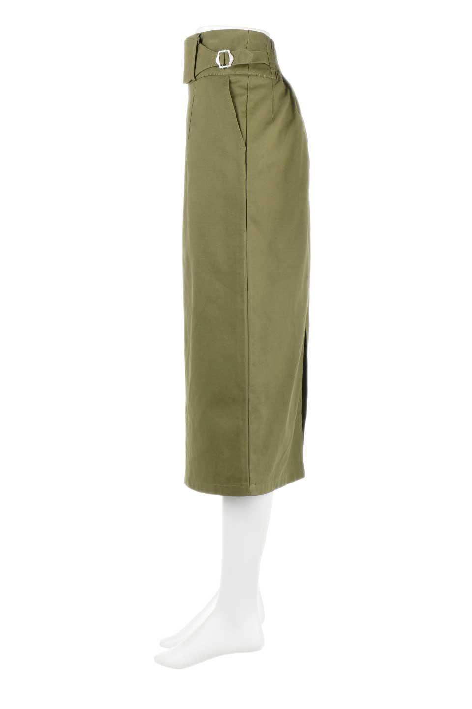 CottonTwillGurkhaSkirtミディ丈・グルカスカート大人カジュアルに最適な海外ファッションのothers(その他インポートアイテム)のボトムやスカート。ウエスト回りに特徴があるグルカの仕様をアレンジしたスカート。しっかりしたツイル生地なのでセミタイトのシルエットをきれいに見せてくれます。/main-12