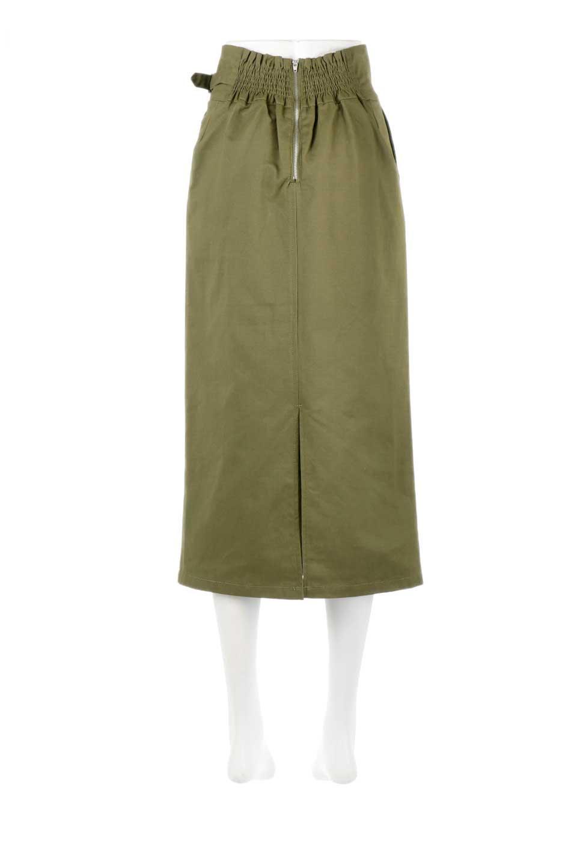 CottonTwillGurkhaSkirtミディ丈・グルカスカート大人カジュアルに最適な海外ファッションのothers(その他インポートアイテム)のボトムやスカート。ウエスト回りに特徴があるグルカの仕様をアレンジしたスカート。しっかりしたツイル生地なのでセミタイトのシルエットをきれいに見せてくれます。/main-14