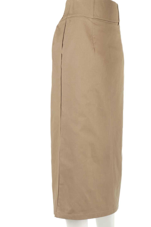CottonTwillGurkhaSkirtミディ丈・グルカスカート大人カジュアルに最適な海外ファッションのothers(その他インポートアイテム)のボトムやスカート。ウエスト回りに特徴があるグルカの仕様をアレンジしたスカート。しっかりしたツイル生地なのでセミタイトのシルエットをきれいに見せてくれます。/main-17
