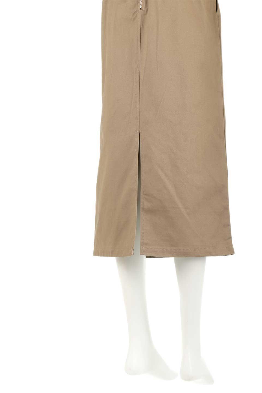 CottonTwillGurkhaSkirtミディ丈・グルカスカート大人カジュアルに最適な海外ファッションのothers(その他インポートアイテム)のボトムやスカート。ウエスト回りに特徴があるグルカの仕様をアレンジしたスカート。しっかりしたツイル生地なのでセミタイトのシルエットをきれいに見せてくれます。/main-18
