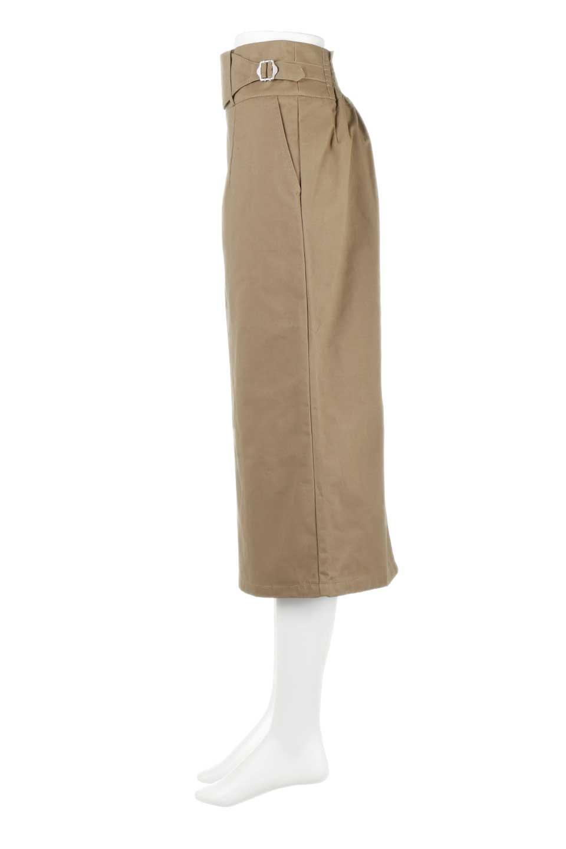 CottonTwillGurkhaSkirtミディ丈・グルカスカート大人カジュアルに最適な海外ファッションのothers(その他インポートアイテム)のボトムやスカート。ウエスト回りに特徴があるグルカの仕様をアレンジしたスカート。しっかりしたツイル生地なのでセミタイトのシルエットをきれいに見せてくれます。/main-7
