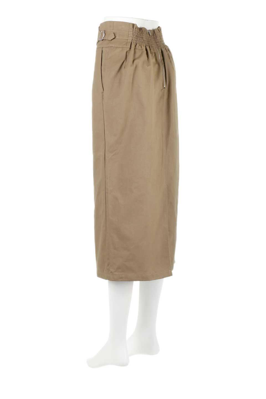 CottonTwillGurkhaSkirtミディ丈・グルカスカート大人カジュアルに最適な海外ファッションのothers(その他インポートアイテム)のボトムやスカート。ウエスト回りに特徴があるグルカの仕様をアレンジしたスカート。しっかりしたツイル生地なのでセミタイトのシルエットをきれいに見せてくれます。/main-8