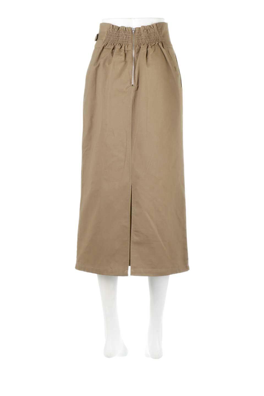 CottonTwillGurkhaSkirtミディ丈・グルカスカート大人カジュアルに最適な海外ファッションのothers(その他インポートアイテム)のボトムやスカート。ウエスト回りに特徴があるグルカの仕様をアレンジしたスカート。しっかりしたツイル生地なのでセミタイトのシルエットをきれいに見せてくれます。/main-9