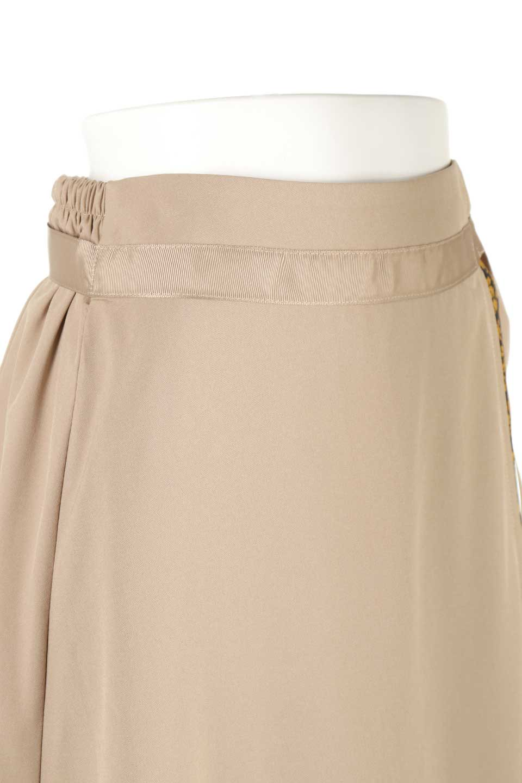 FloralPanelLongWrappedSkirt花柄切り替え・バイカラーラップスカート大人カジュアルに最適な海外ファッションのothers(その他インポートアイテム)のボトムやスカート。大胆な花柄の切り替えがアクセントのラップスカート。柔らかな素材でドレープ感が楽しめます。/main-10