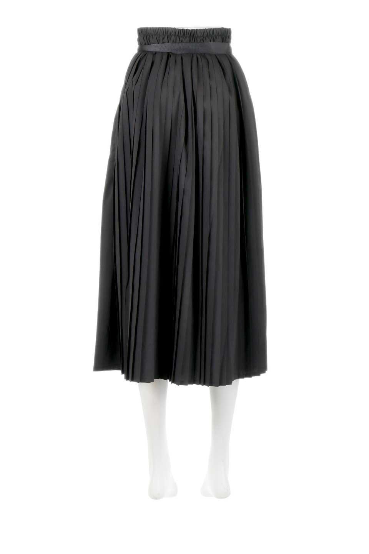 PleatedWrapSkirtプリーツ入り・ラップスカート大人カジュアルに最適な海外ファッションのothers(その他インポートアイテム)のボトムやスカート。柔らかく軽やかなポリエステル素材を使用したラッププリーツスカート。きれいなラインをキープしてくれる、程よいハリ感もおすすめポイントです。/main-14