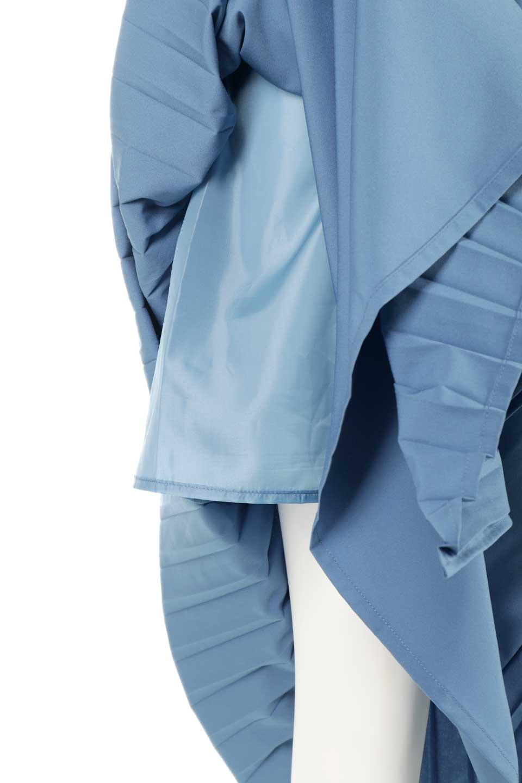 PleatedWrapSkirtプリーツ入り・ラップスカート大人カジュアルに最適な海外ファッションのothers(その他インポートアイテム)のボトムやスカート。柔らかく軽やかなポリエステル素材を使用したラッププリーツスカート。きれいなラインをキープしてくれる、程よいハリ感もおすすめポイントです。/main-21