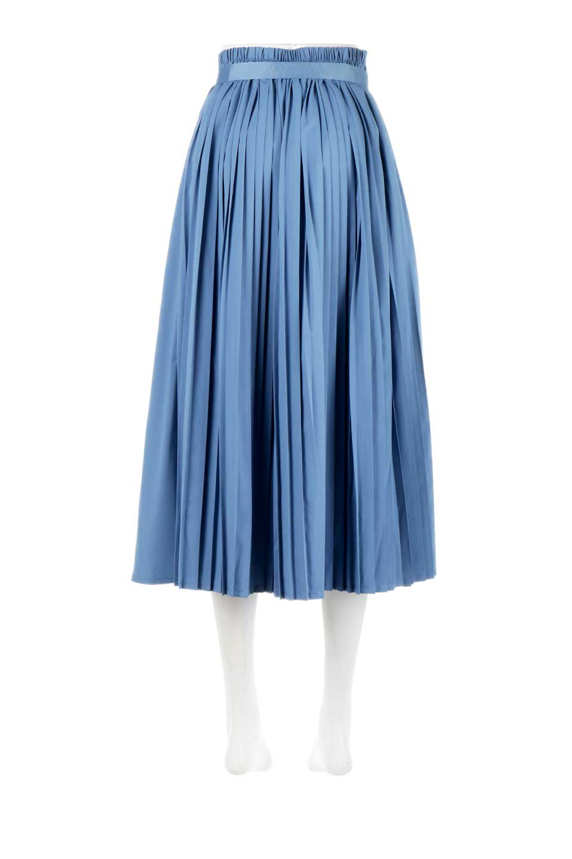 PleatedWrapSkirtプリーツ入り・ラップスカート大人カジュアルに最適な海外ファッションのothers(その他インポートアイテム)のボトムやスカート。柔らかく軽やかなポリエステル素材を使用したラッププリーツスカート。きれいなラインをキープしてくれる、程よいハリ感もおすすめポイントです。/main-9