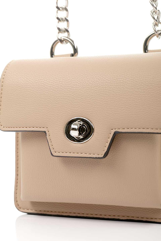 meliebiancoのLara(Nude)ロングストラップ・スクエアショルダーバッグ/海外ファッション好きにオススメのインポートバッグとかばん、MelieBianco(メリービアンコ)のバッグやハンドバッグ。ミニバッグはカワイイけど財布が入らない・・・このバッグならお財布は要りません。コンパクトなボディにカードホルダーなどを備えたスグレモノです。/main-8